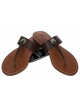 Sandalo infradito EMPORIO ARMANI a.262515 5P385 taglia 41 c.06153 MARRONE