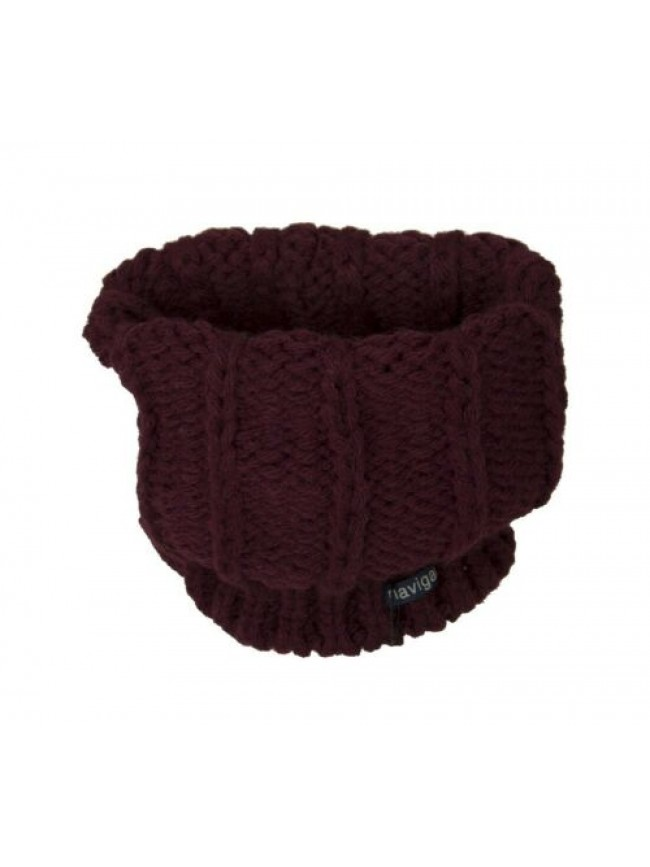 Scaldacollo fascia collo sciarpa donna NAVIGARE articolo 056 made in ITALY - cm.