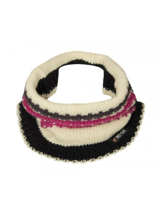 Scaldacollo fascia collo sciarpa donna SWEET YEARS articolo MS5589 made in ITALY