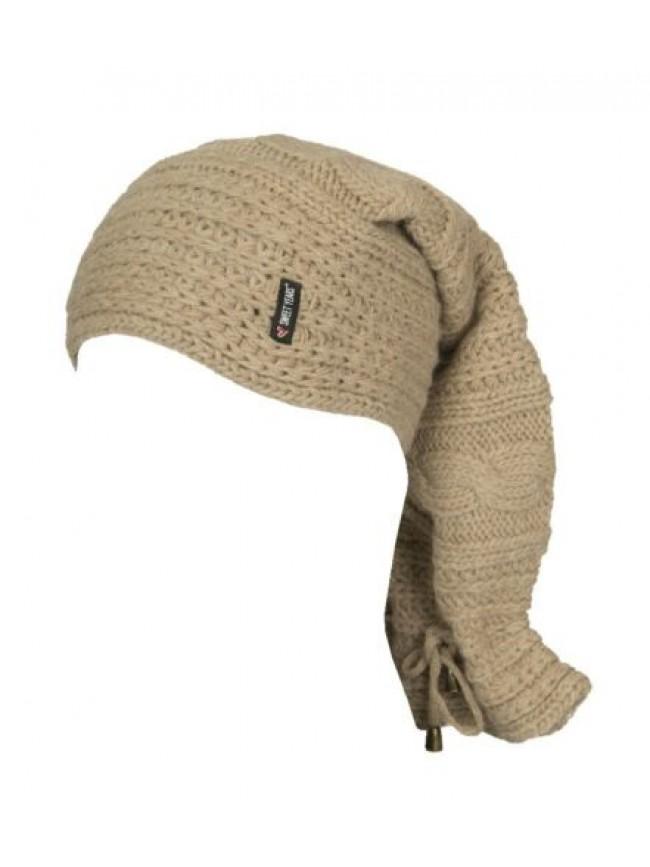 Scaldacollo fascia collo sciarpa donna trasformabile in cappello SWEET YEARS art