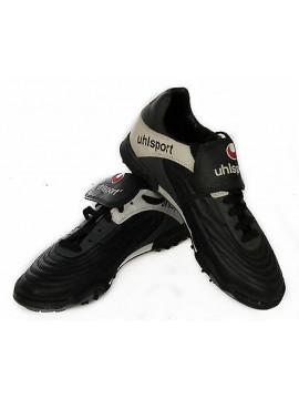 Scarpa calcetto bambino junior UHLSPORT a. 8613.4100 taglia 38 c. 203 BLACK RED