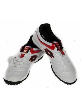 Scarpa calcetto bimbo bambino junior  LOTTO art. M2123 taglia 37 col. WHITE RED