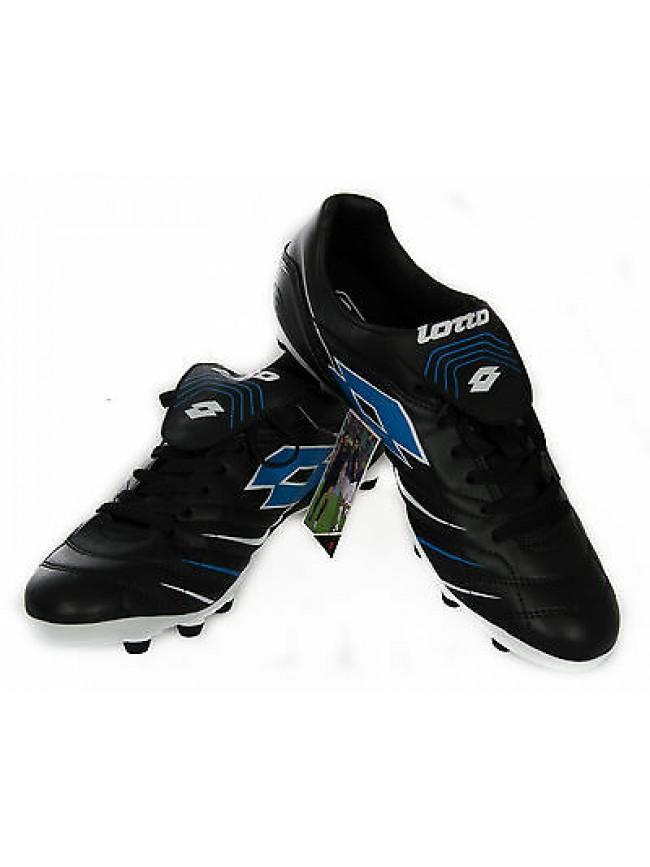 Scarpa calcio uomo football LOTTO art. R2631 taglia 45 colore BLACK BLUE