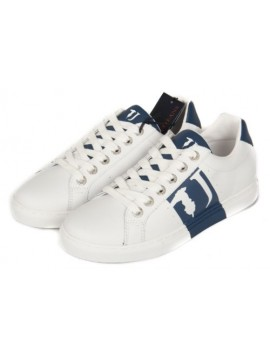 Scarpe uomo sneaker TRUSSARDI JEANS articolo 77S527 SNEAKER LOGO LATERAL
