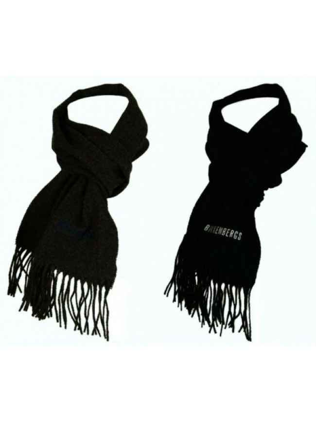 Sciarpa 100% lana merino extrafine cm.170 x cm.32 BIKKEMBERGS articolo SCR01151/