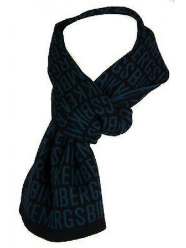 Sciarpa 50% lana cm.162 x cm.23 BIKKEMBERGS articolo 02134/14804 MADE IN ITALY