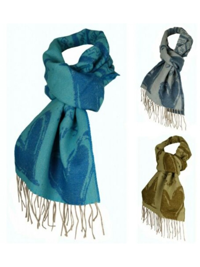 Sciarpa donna in lana SWEET YEARS articolo SYSC01 made in ITALY - cm.165 x 30