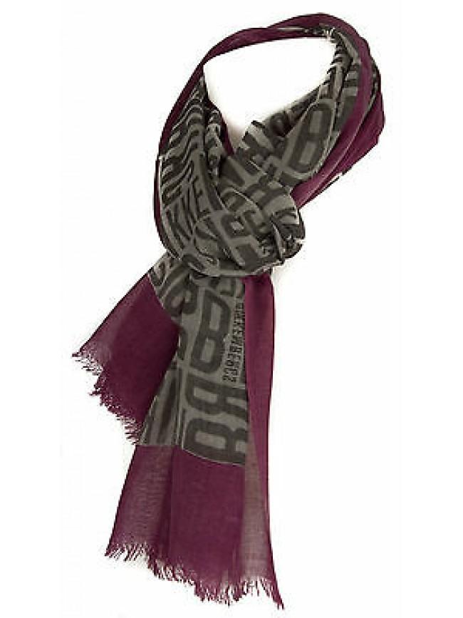 Sciarpa foulard scarf BIKKEMBERGS art.11544 colore 001 FUXIA BEIGE cm.70x180
