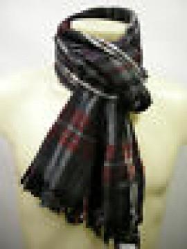 Sciarpa lana scarf wool unisex PIERRE CARDIN JC3195 P001 col.1 grigio grey Italy