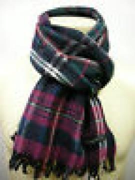Sciarpa lana scarf wool unisex PIERRE CARDIN JC3195 P001 col.6 petrolio Italy