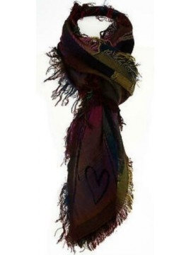 Sciarpa scarf SWEET YEARS art.JC3645 col.6 ARANCIO Italy