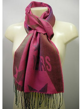 Sciarpa scarf SWEET YEARS art.JC3650 colore 7 fuxia Italy