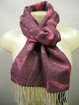 Sciarpa scarf SWEET YEARS art.JC3724 colore 5 fuxia Italy
