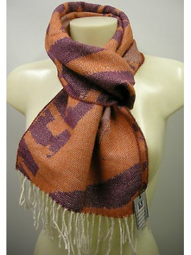 Sciarpa scarf SWEET YEARS art.JC3725 colore 7 arancio orange Italy