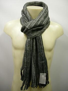 Sciarpa scarf unisex PIERRE CARDIN art.CRS84 P001 col.8 grigio grey Italy