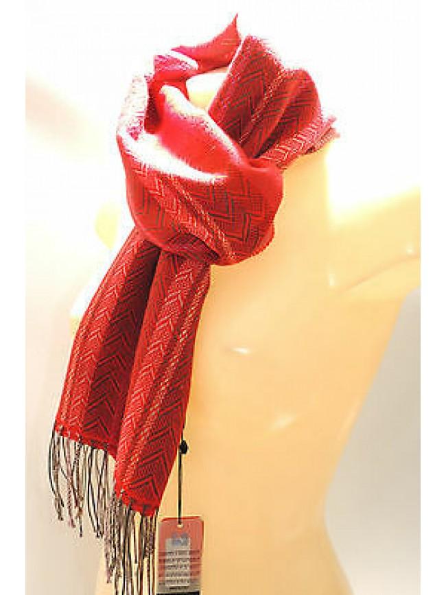 Sciarpa scarf unisex PIERRE CARDIN art.JC2603 P001 col.9 rosso red Italy