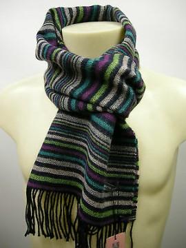 Sciarpa scarf unisex PIERRE CARDIN art.JC3563 P001 col.4 giada Italy
