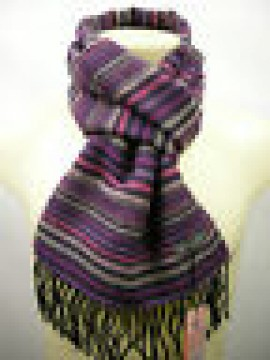 Sciarpa scarf unisex PIERRE CARDIN art.JC3563 P001 col.5 prugna Italy