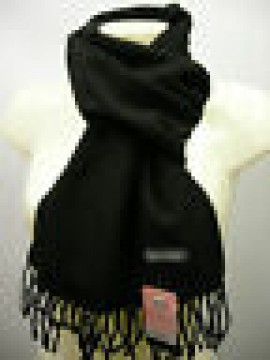 Sciarpa scarf unisex PIERRE CARDIN art.ROMA P001 col.101 nero black Italy