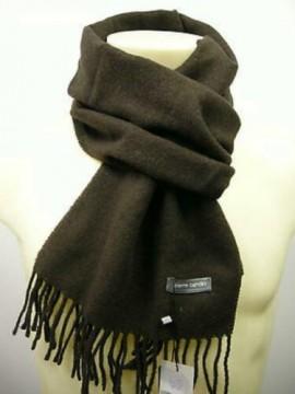 Sciarpa scarf unisex PIERRE CARDIN art.ROMA P001 col.119 marrone brown Italy