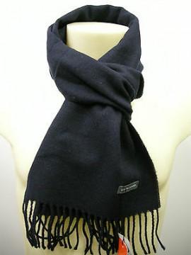 Sciarpa scarf unisex PIERRE CARDIN art.ROMA P001 col.158 blu bleu Italy