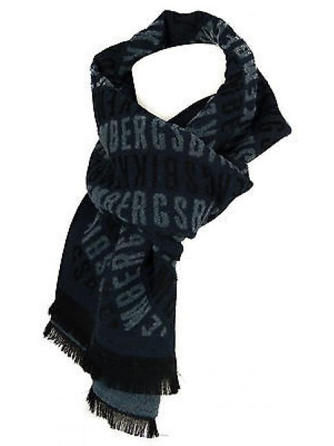 Sciarpa scarf uomo BIKKEMBERGS articolo G8108 cm. 32x190 colore 002 ITALY