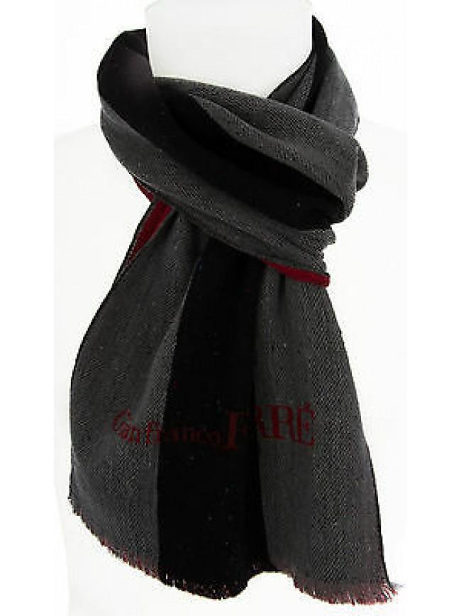 Sciarpa scarf uomo GIANFRANCO FERRE DU1E3132 cm.30X180 c.001 GRIGIO Italy