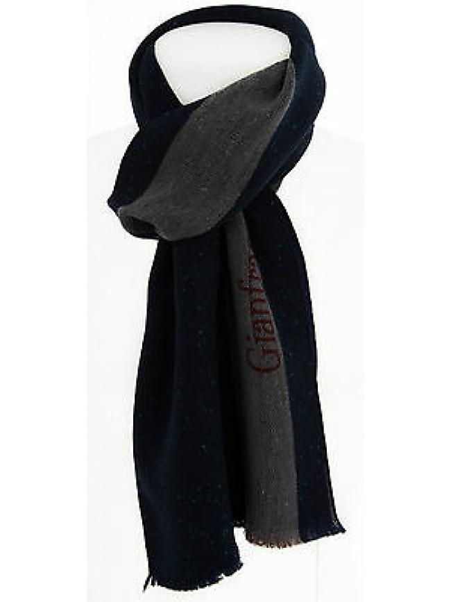 Sciarpa scarf uomo GIANFRANCO FERRE a.DU1E3131 cm.30X180 c.004 BLU Italy