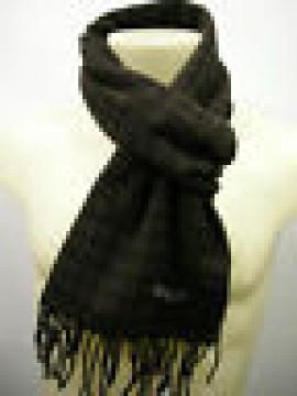 Sciarpa scarf uomo PIERRE CARDIN a.POULE P001 c.6 marrone nero Italy