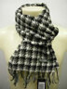 Sciarpa scarf uomo PIERRE CARDIN articolo POULE P001 colore 1 BIANCO GRIGIO ital