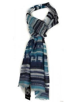 Sciarpa unisex scarf GUESS articolo AM8204 cm.175x60 colore BLU