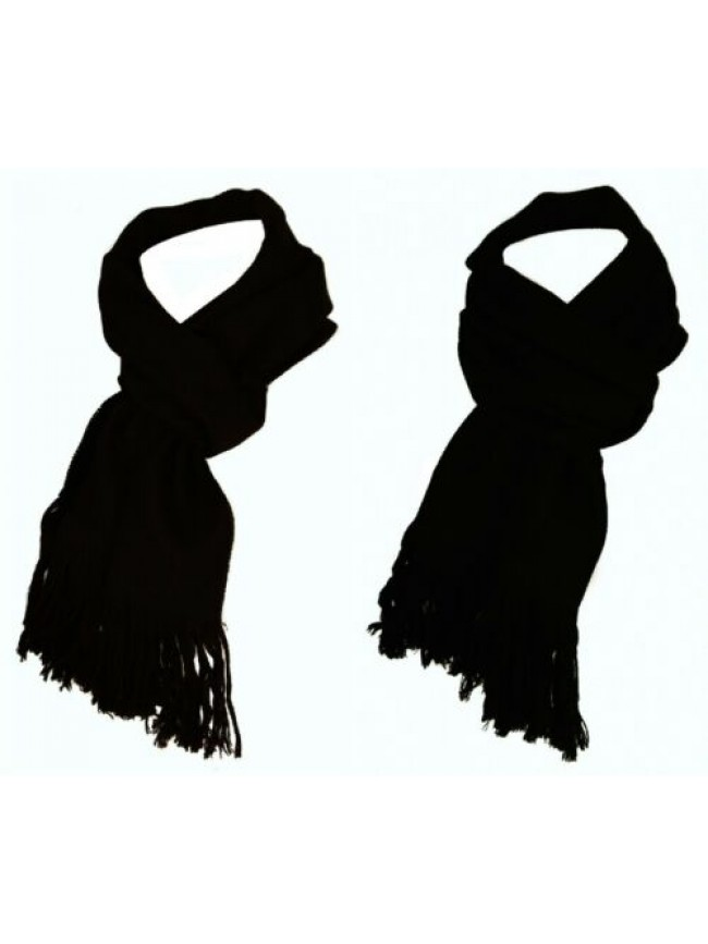 Sciarpa uomo 100% lana ROBERTO CAVALLI articolo E541 SK0 cm.180x36 made in Italy