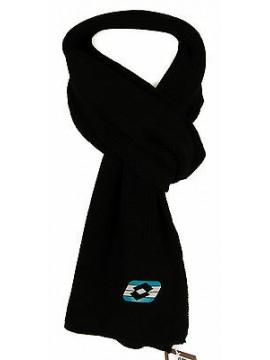 Sciarpa uomo scarf LOTTO articolo M5766 cm. 22x175 colore NERO BLACK