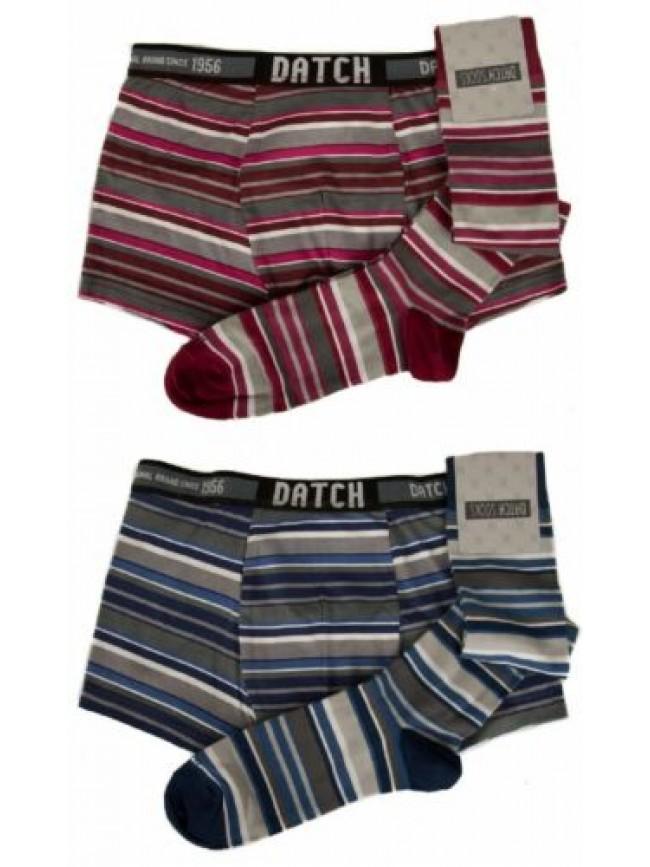 Set boxer + 1 paio calze lunghe uomo calzini alti underwear DATCH articolo CDM00