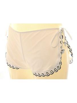 Shorts pantalone corto donna mare EMPORIO ARMANI 262209 3P358 T.S c.00010 bianco