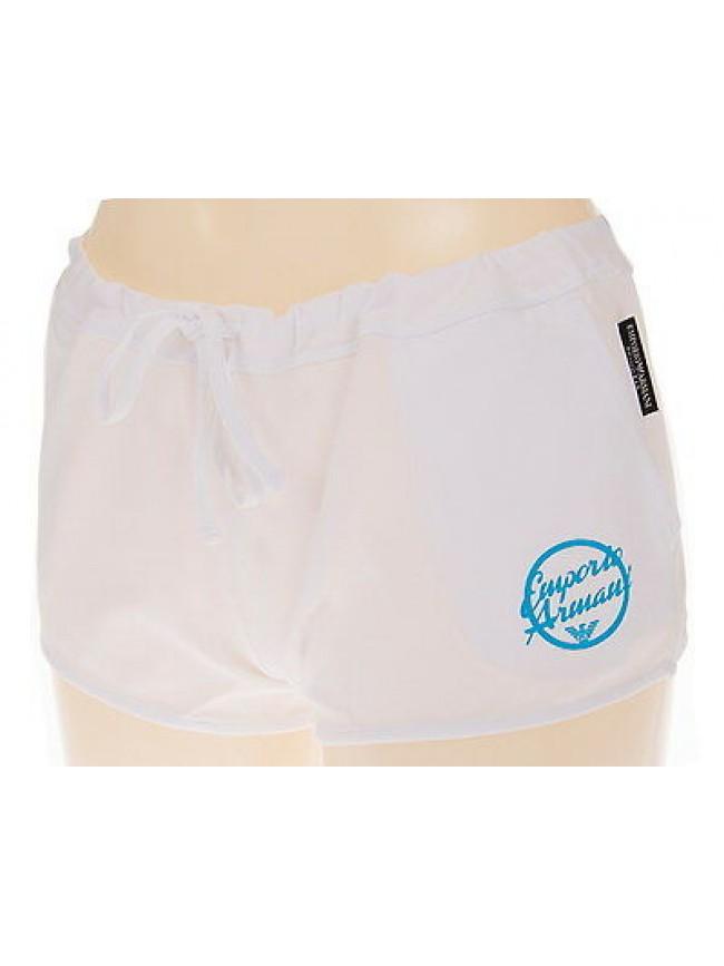 Shorts pantalone donna mare EMPORIO ARMANI 262393 4P368 T.M 00010 BIANCO