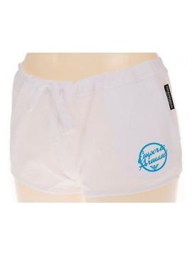 Shorts pantalone donna mare EMPORIO ARMANI 262393 4P368 T.S 00010 BIANCO