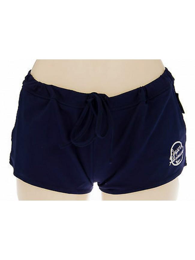 Shorts pantalone donna mare EMPORIO ARMANI 262393 4P368 T.XS 00035 NAVY