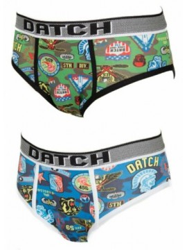 Slip mutanda uomo underwear DATCH articolo DM0050 STAMPA  ARMY