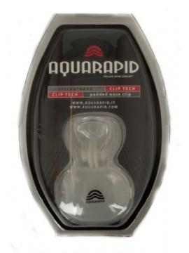 Stringinaso con cuscinetto in silicone tappo per naso nuoto piscina mare AQUARAP
