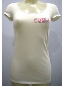 T-SHIRT DONNA GUESS ART.UD2M22 T.4 COL.WHITE MILK U001