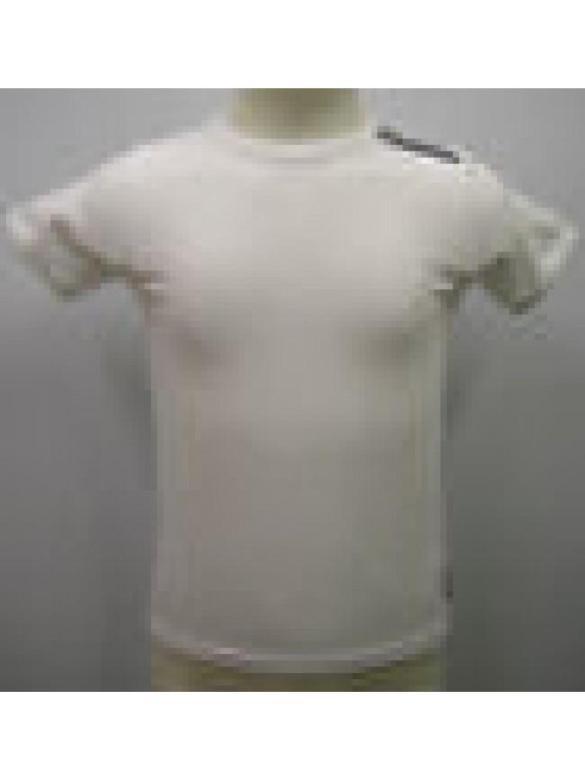 T-SHIRT MAGLIETTA BOY KID BIKKEMBERGS ART.S224 T43 T.10 ANNI C.1100 BIANCO WHITE