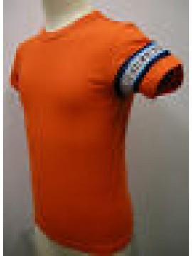 T-SHIRT MAGLIETTA BOY KID BIKKEMBERGS ART.SA27 T30 T.4 ANNI C.4100 ARANCIO