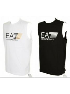 T-shirt canotta smanicato uomo girocollo cotone EA7 EMPORIO ARMANI articolo 3ZPT