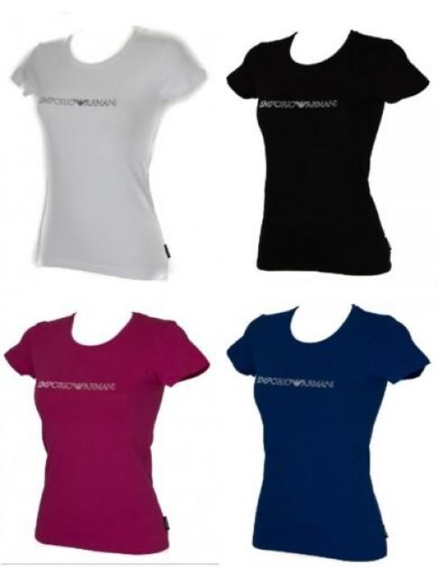 T-shirt donna manica corta girocollo EMPORIO ARMANI articolo 163139 6A317