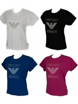 T-shirt donna manica corta girocollo EMPORIO ARMANI articolo 163762 6A253