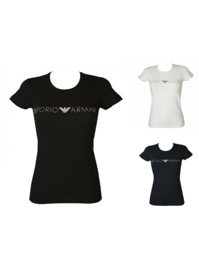 T-shirt donna manica corta girocollo elasticizzata EMPORIO ARMANI articolo 16313