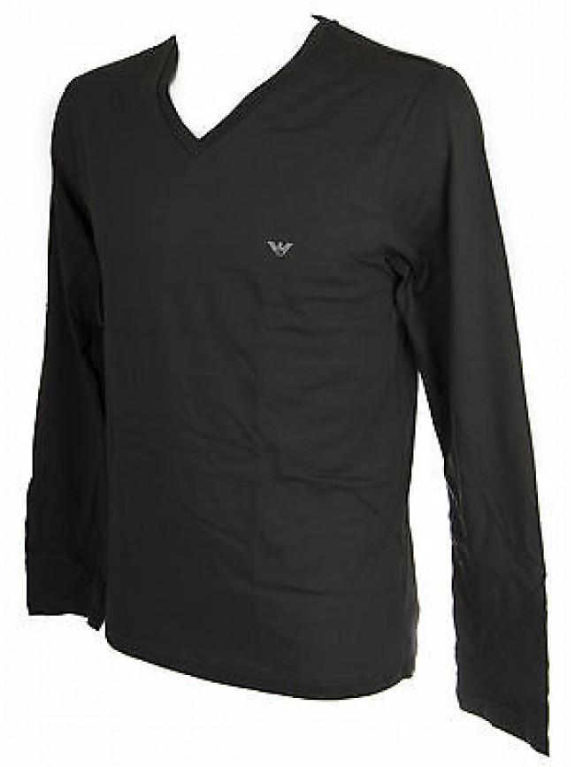 T-shirt maglia V uomo EMPORIO ARMANI a.111247 5A502 taglia L c.06844 GREY