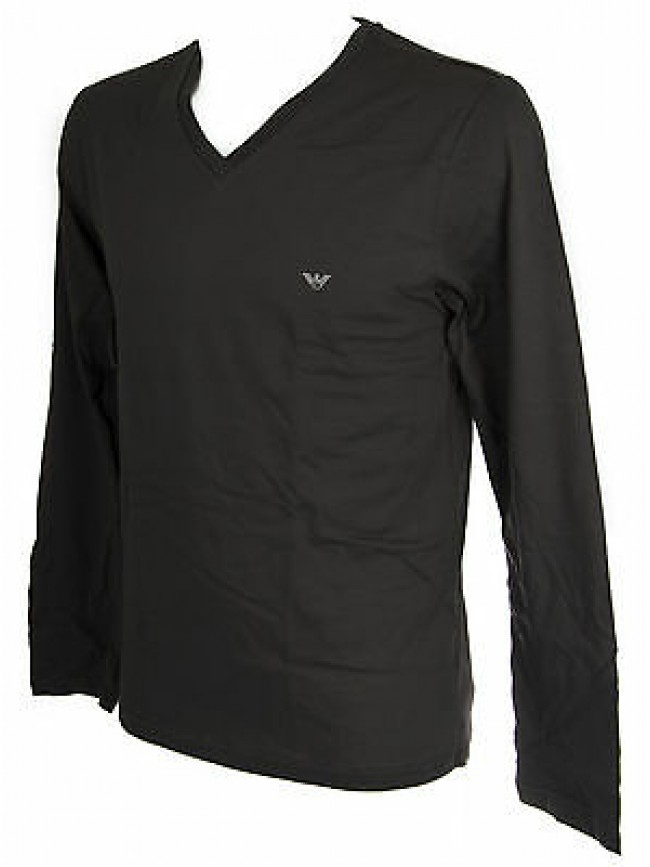 T-shirt maglia V uomo EMPORIO ARMANI a.111247 5A502 taglia S c.06844 GREY