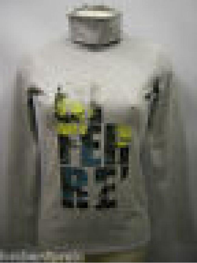 T-shirt maglia collo alto donna sweater GF FERRE 5F7759 T.L c.827 grigio Italy